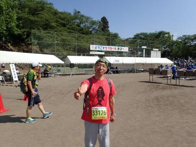 5月10日鹿沼さつきマラソン(栃木県)にて